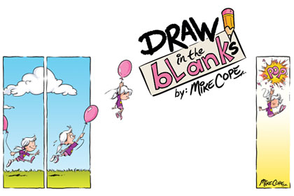 Draw in the Blanks by Mike Cope