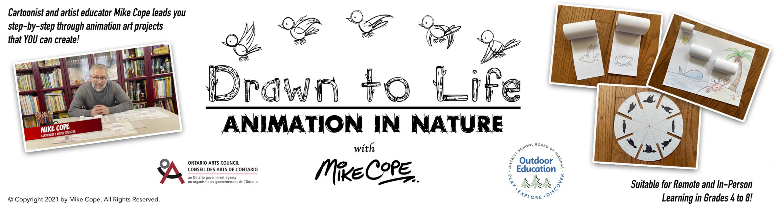 Drawn to Life: Animation in Nature (Arts Education Video Series) with Mike Cope