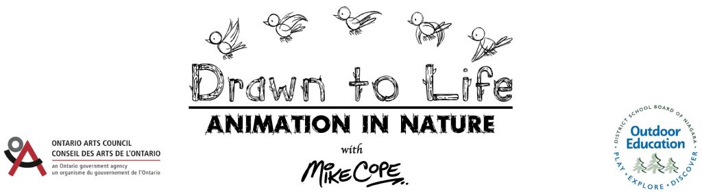Logo - Drawn to Life: Animation in Nature with Mike Cope